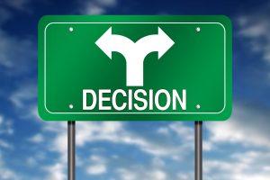 Tomar una decisión sobre mi futuro