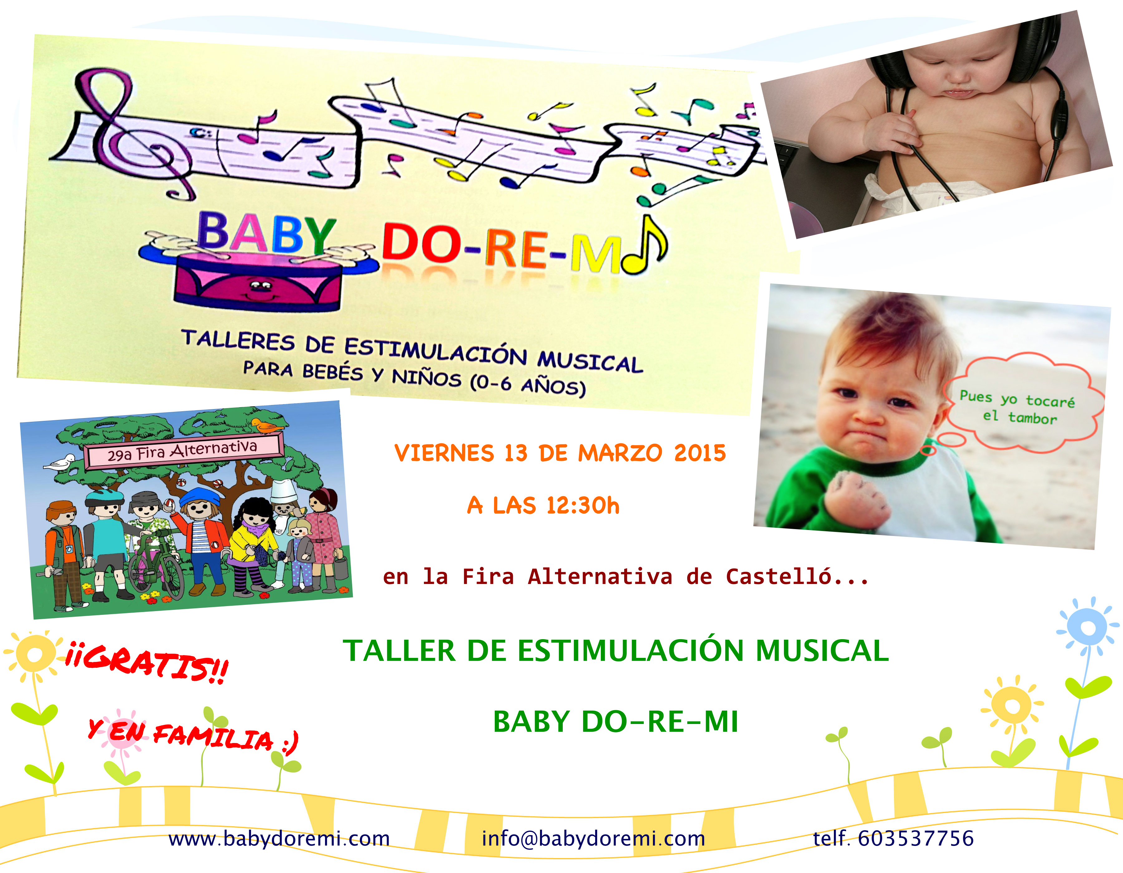 Cartel Fira alternativa 2015_Baby doremi