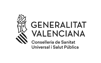 logo Generalitat valenciana, conselleria de sanitat