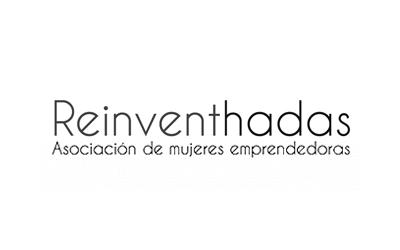 logo asociación de mujeres emprendedoras, Reinventhadas