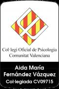 Colegio Oficial de psicología Comunitat Valenciana donde pertenece Aida Fernández